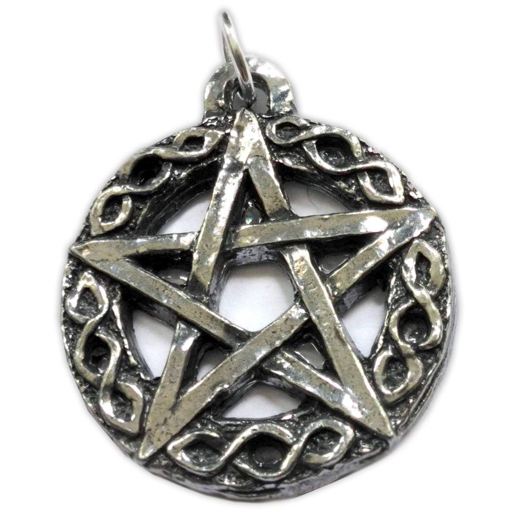 Talismã Pingente - Pentagrama Noite Céltica