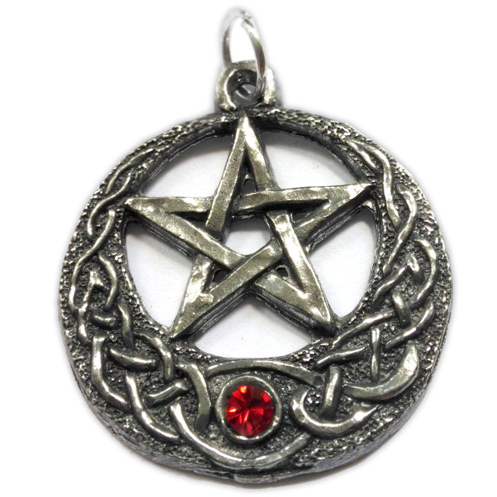 Talismã Pentagrama - Royal Swarovski
