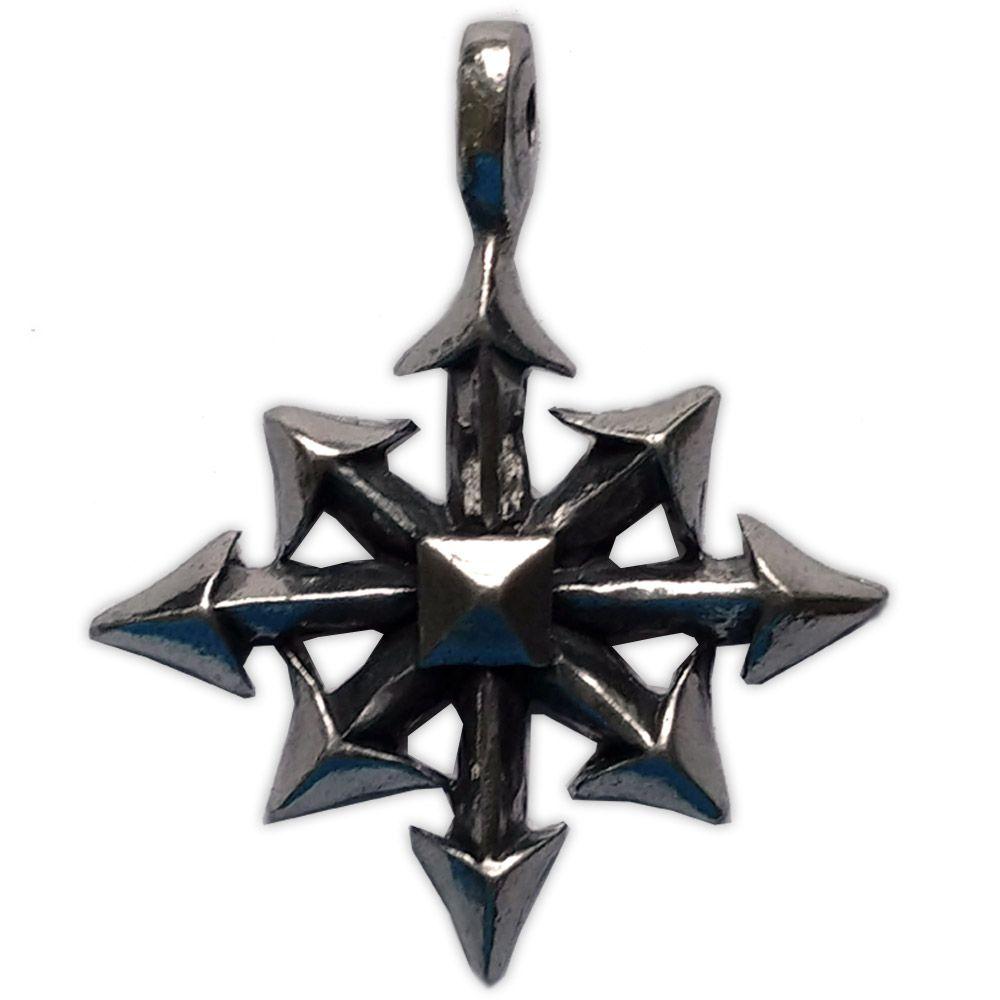 Talismã Pingente - Chaos Star