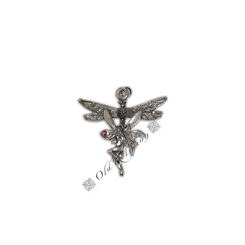 Talismã Pingente Dragonfly Fairy