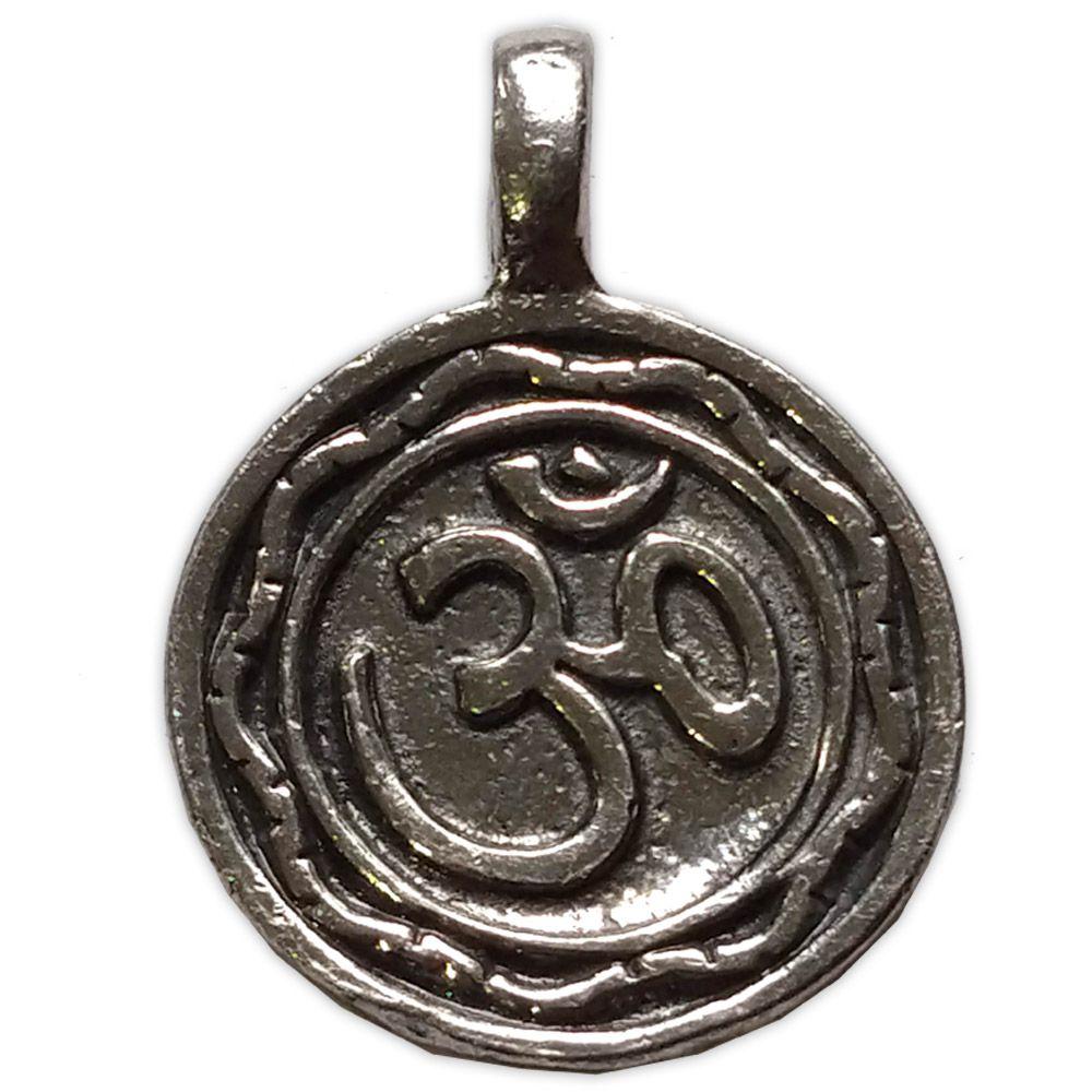 Talismã Pingente - Medalha OM