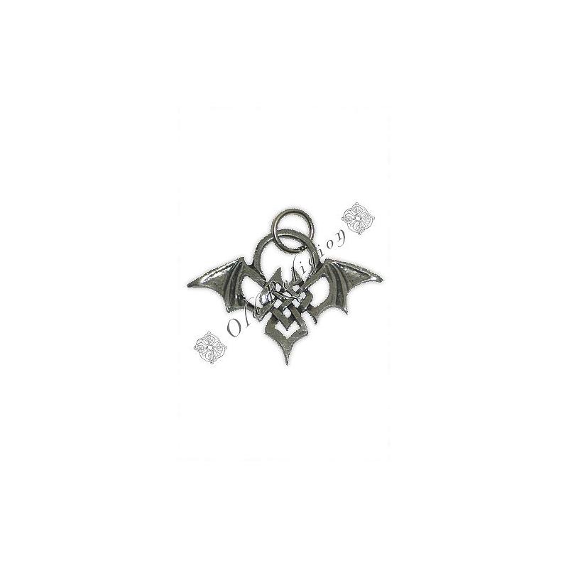 Talismã Pingente - Morcego Celta