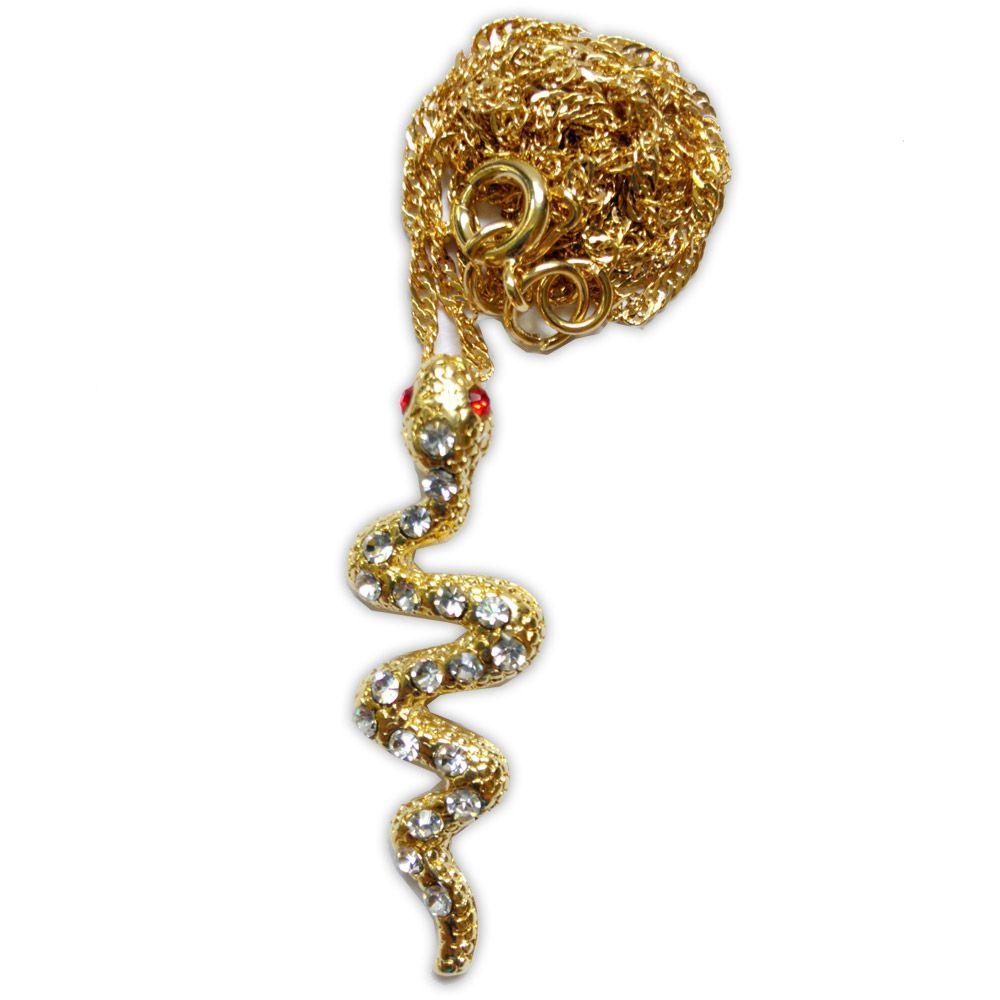Talismã Serpente - Dourada