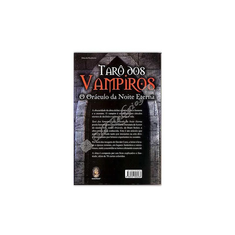 Tarot dos Vampiros  - Acompanha Livro