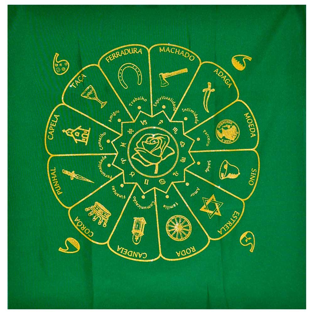 Toalha Cigana - Verde