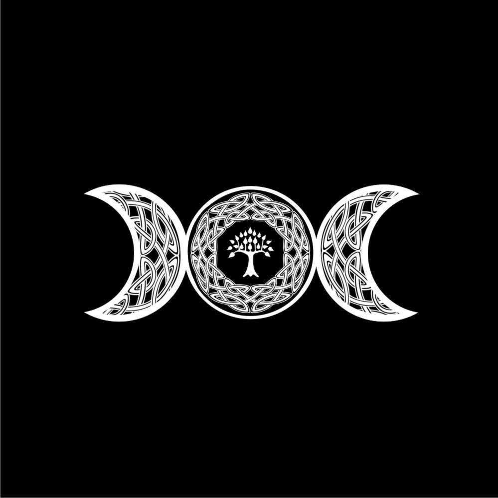 Toalha de Altar Triluna - Preta