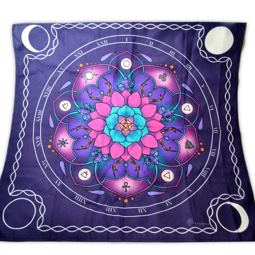 Toalha de Veludo Mandala para Altar mod. 1