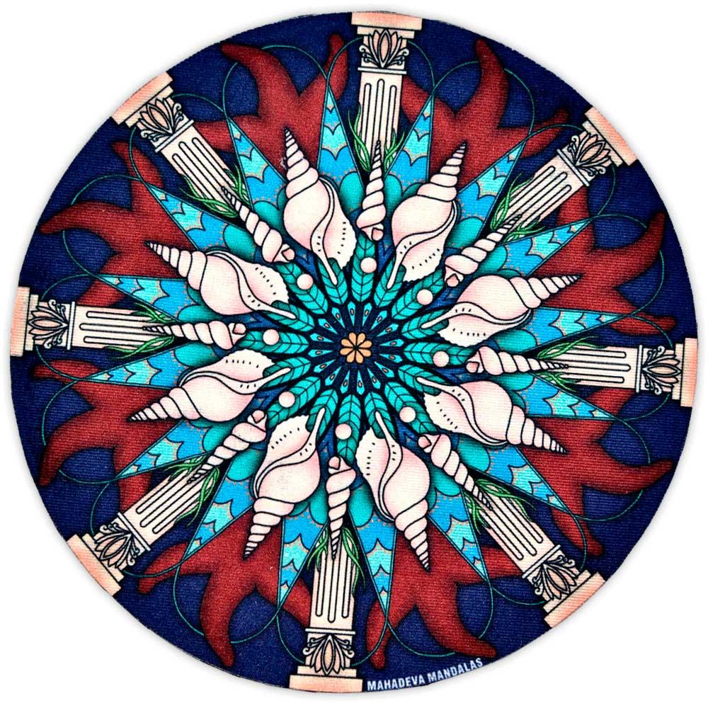 Toalha Emborrachada para Altar Mandala mod. 3