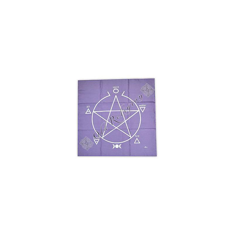 Toalha para Altar e Tarô - lilás