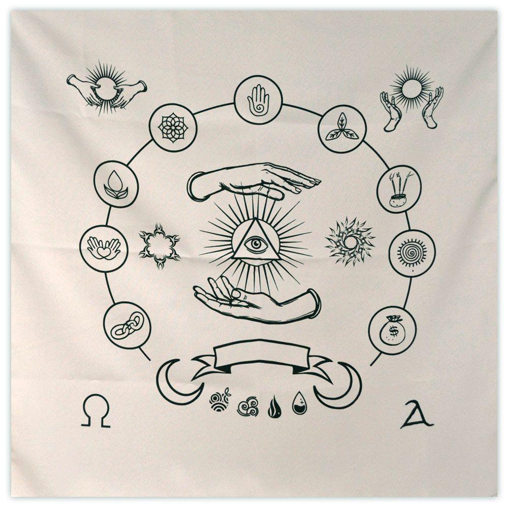 Toalha para Feitiços - Spell Cloth (branca)