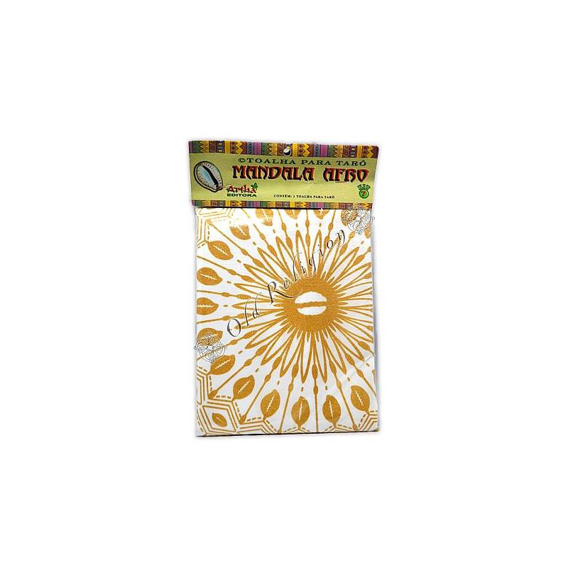 Toalha para Tarô - Mandala Afro