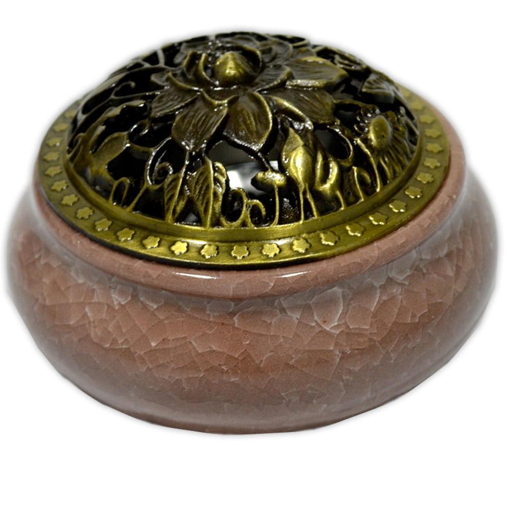 Turíbulo de Cerâmica - Marrom
