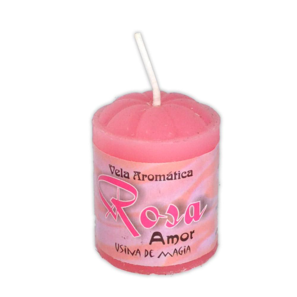 Vela Aromática - Rosa