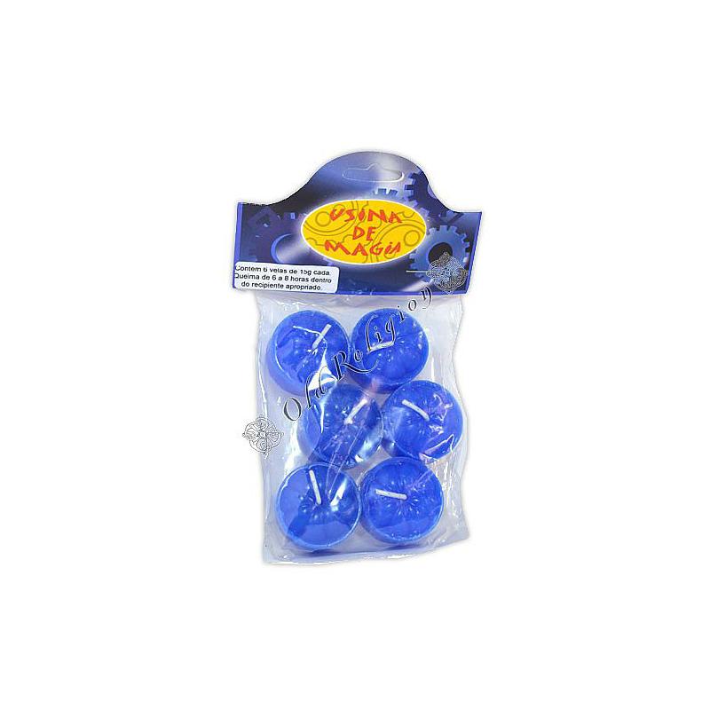 Vela Rechaud - Azul