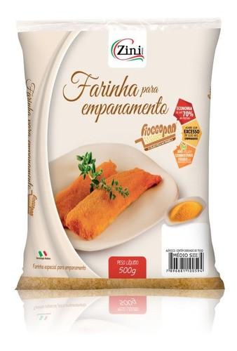 Farinha de Rosca para Empanar: Fioccopan S3 |500g. - Zini Alimentos