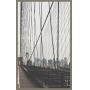 Conjunto de Quadros Decorativos Dípticos Ponte do Brooklyn