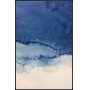 TELA DECORATIVA CANVAS ABSTRATA AQUARELA BLUE