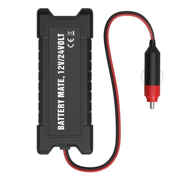 Analisador de Bateria Digital Automotivo Profissional 12 a 24v Para Carros Caminhões Leves Diesel Gasolina e Flex Análise Completa (BTO)