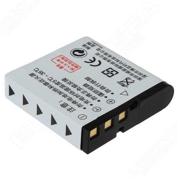 Bateria NP-40 Para Filmadora Ordro HDV-Z20 HDV-Z80 HDV-Z8 HDV-Z8 PLUS HDR-AC7 e Várias Outras Marcas e Modelos Compatíveis