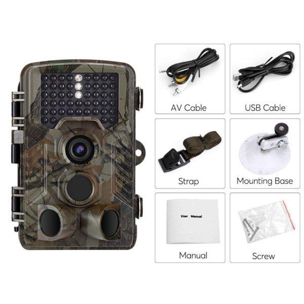 Câmera de Trilha Digital Full-HD 1080P 12MP Visão Noturna 12 Meses Em Stand-By Micro SD Até 32GB (BTO)