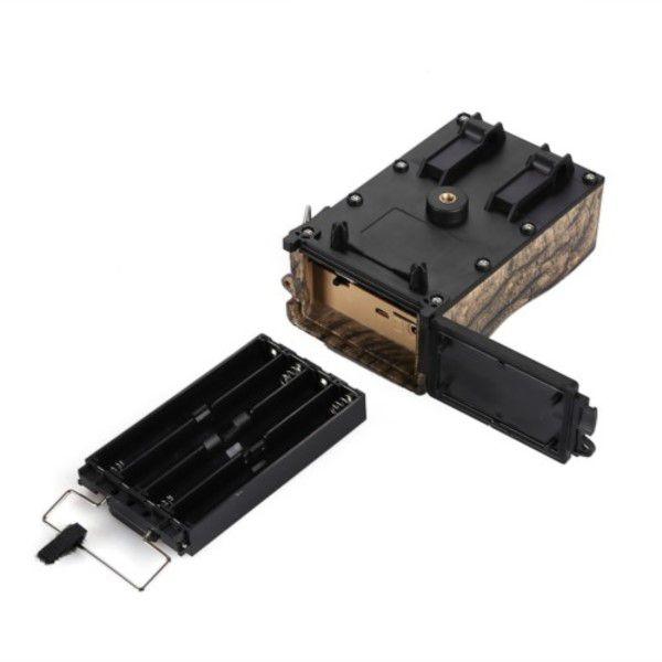 Câmera de Trilha Digital Full-HD 1080P 12MP Visão Noturna Micro SD até 32GB Até 8 Meses Em Espera (BTO)