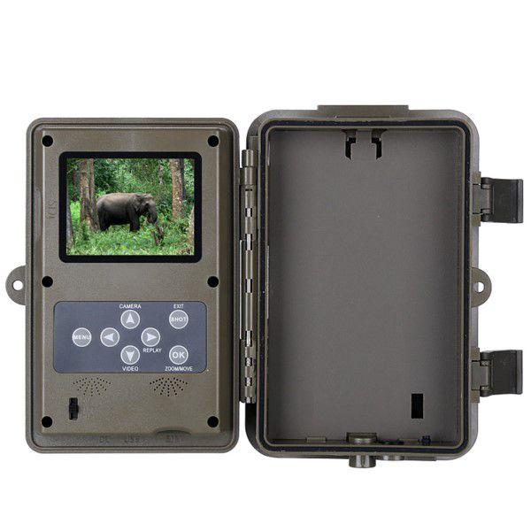 Câmera de Trilha Digital Full-HD 1080p 16MP Visão Noturna SD Até 64GB Até 6 Meses de Espera IP66 (BTO)