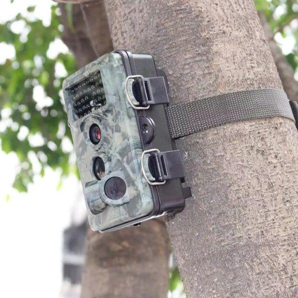 Câmera de Trilha Wildlife Visão Noturna Lente Grande Angular Full-HD1080p 12MP Sup Micro SD Até 32GB (BTO)
