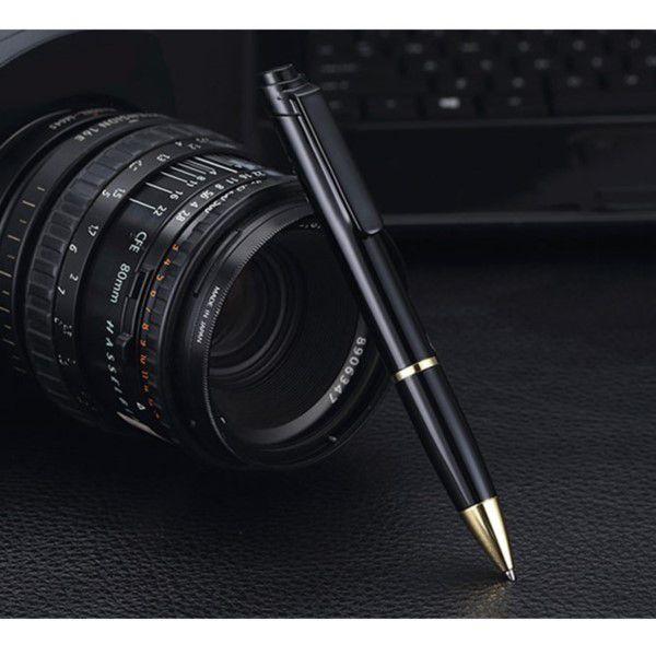 Caneta Espiã Gravador De Voz Digital Profissional MP3 16gb Usb Jack Áudio 3,5MM Fone de Ouvido