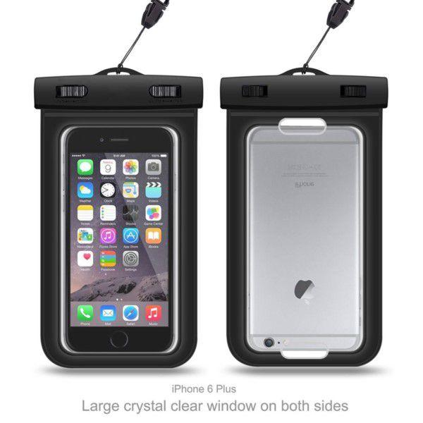 Capa Impermeável À Prova D`água Para Smartphone Até 6 Polegadas Até 10m Proteção Completa