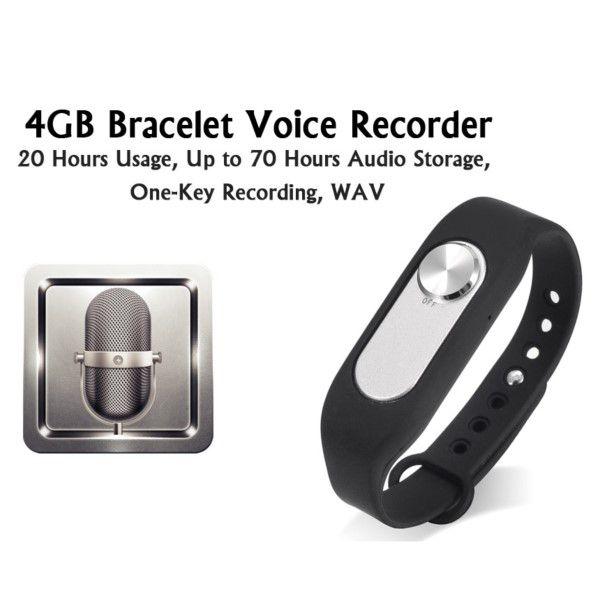 Gravador Voz Digital Espião Mini Portátil 4gb Grava Até 20 Horas (BTO)