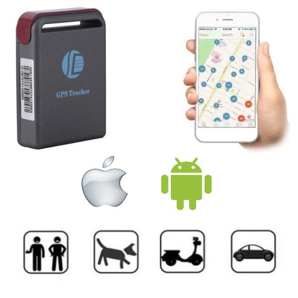 Mini Gps Tracker Gsm Gprs Veículos Pessoas Animais Objetos Controle de Cargas Frotas Geo-fence Antifurto Escuta De Voz SOS Via App e Web PC