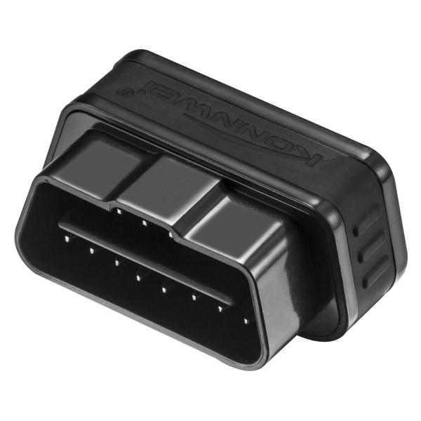 Mini Scanner Automotivo Profissional EOBD/OBD2 KONNWEI KW903 Bluetooth Para Veículos Com Motores Gasolina Diesel e Flex de 1996 Aos Atuais