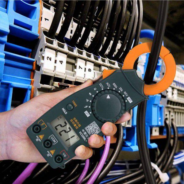 Multímetro Amperímetro Alicate Digital E-ONE VC3266L+ Profissional Portátil Ferramenta de Medição e Diagnóstico Inteligente (BTO)