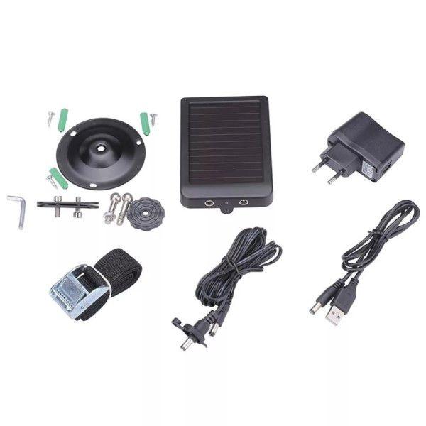 Painel Solar Câmera de Trilha Suntek Entrada DC 5-9V / Saída DC 6V / HC-300M / HC-350M / HC-500M / HC-550M / HC-500G / HC-550G (BTO)