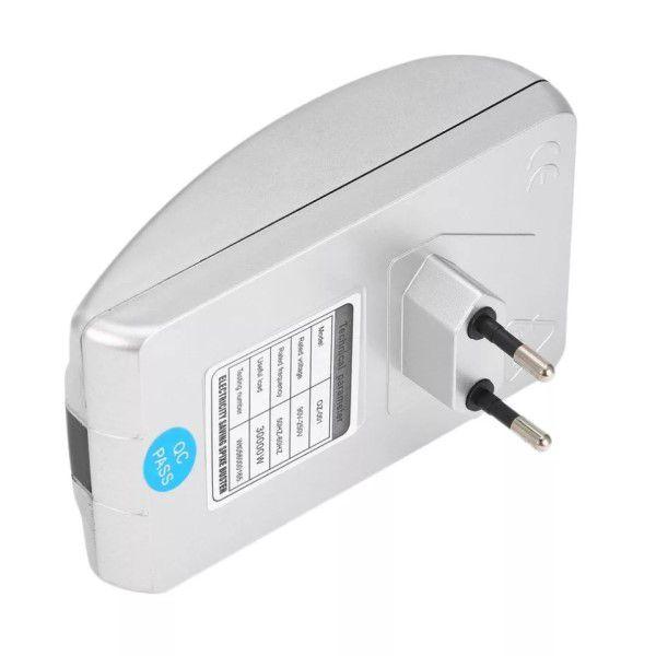 Economizador de Energia Elétrica Inteligente Bivolt Kit 02 Unidades Redutor Estabilizador de Tensão Proteção de Dispositivos Redução Picos