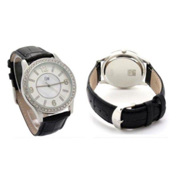 Relógio Feminino Moda Casual Pulseira De Couro