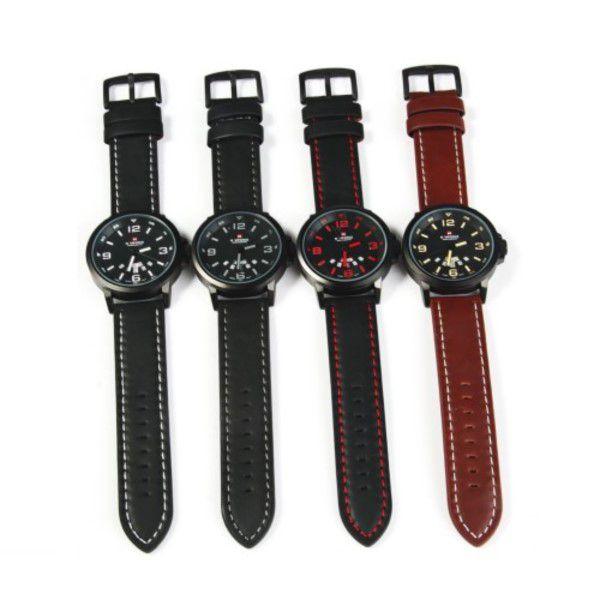 Relógio Masculino Naviforce Nf9028 Quartz Pulseira De Couro