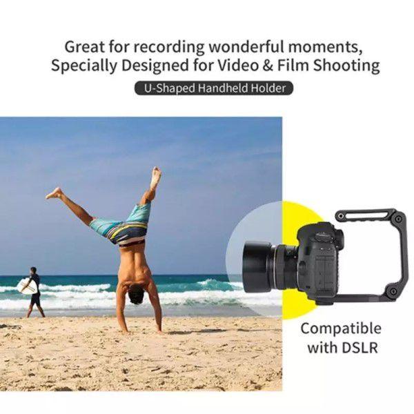 Suporte de Mão Ordro Profissional Estabilizador de Imagem Para Filmadora Câmera Digital e Smartphone Rosca Universal de 1/4 Polegadas (BTO)