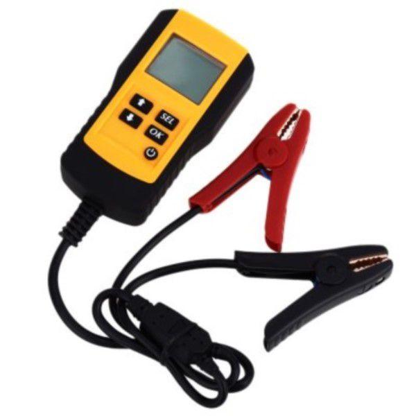 Analisador Bateria de Carro LCD Digital 12V a 15.8V - 5 a 9995 CCA Diagnóstico Completo Inundação Agm Gel Sla Baterias Ciclo Profundo (BTO)