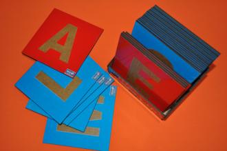 Alfabeto com Lixa