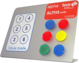 Alpha braille