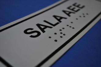 Placa de sinalização - SALA AEE