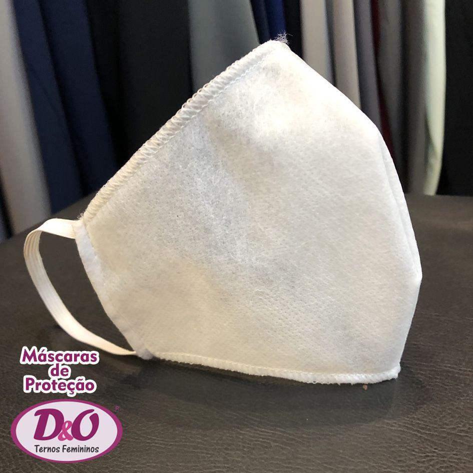 30 unids - Máscara descartável TNT c/ elástico (2 camadas de filtro)