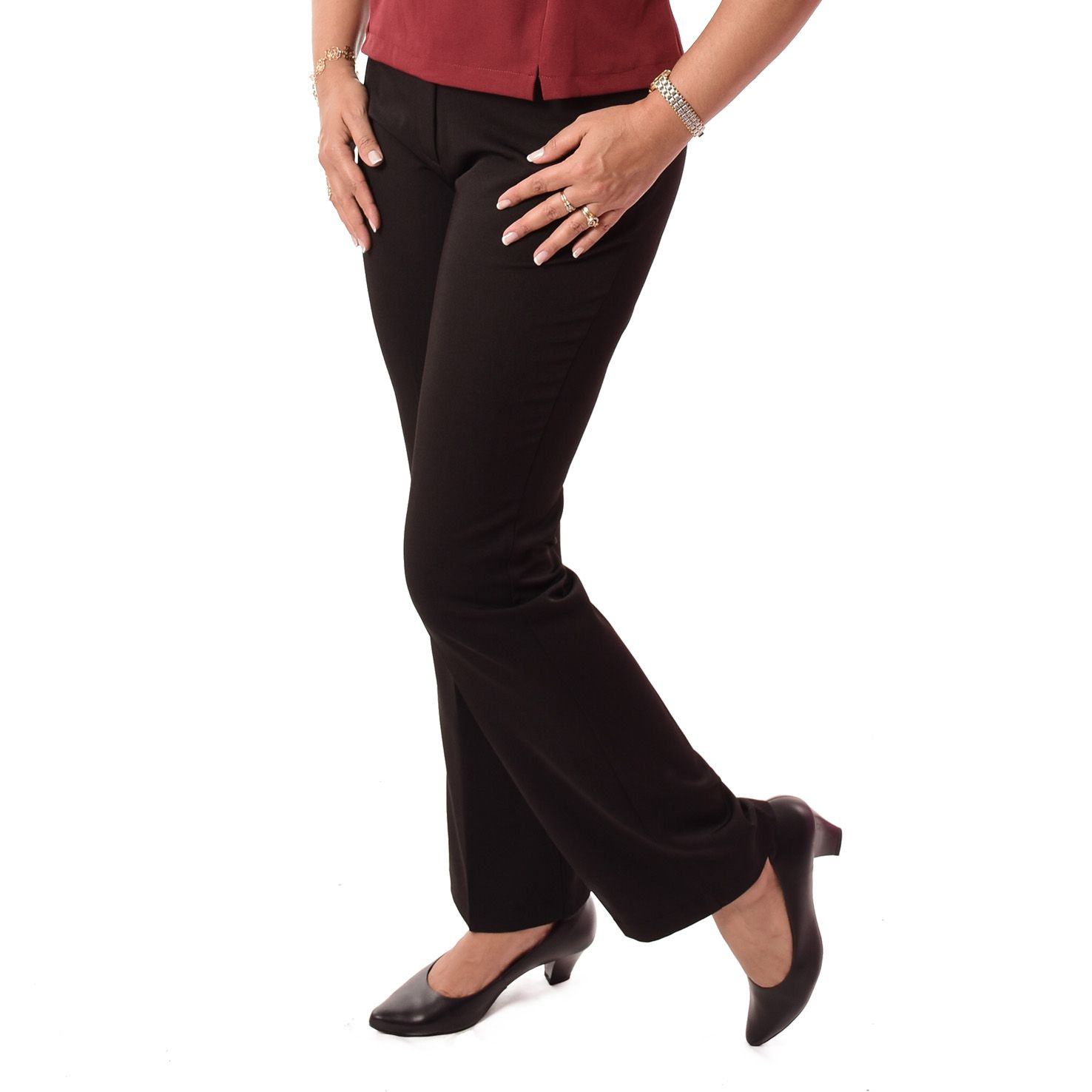 Calça Social Feminina Longa - Tamanhos grandes