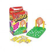 Jogo de Bingo 48 Cartelas Globo Giratório