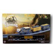 Locomotiva Trem Express Trenzinho Infantil a Pilhas