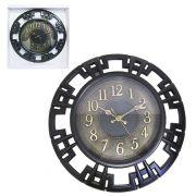 Relógio de Parede Grande Redondo Vintage 40cm Diâmetro
