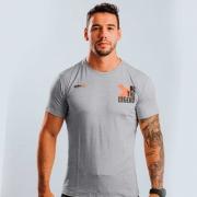 Camiseta Treino Masculina Be The Legend Cinza Claro Ultrawod