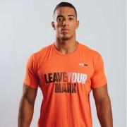 Camiseta Treino Masculina Leave Your Mark Laranja Ultrawod