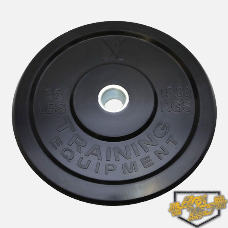 Anilha para CrossFit 15KG - 35LB- X-Training Equipment  Braves Games